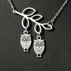 """Jewelry - Wise Owls Necklace """"Birds of a Feather"""""""